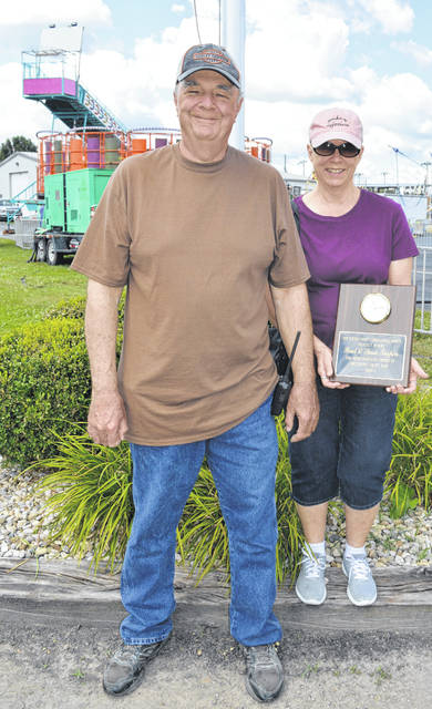This year's Clinton County Fair honorees are Paul and Susy Turpin. Paul is the groundskeeper of the fairgrounds, and he and his wife live on-site. Congratulations to Paul and Susy!