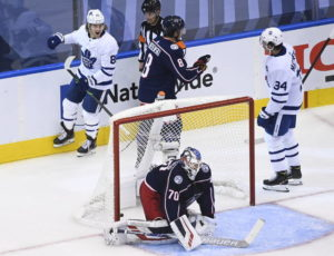 Big-time Jackets rally puts Leafs on the brink