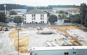 TownePlace Suites by Marriott hotel project underway in Wilmington