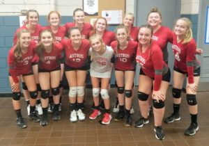 Astros JV volleyball goes to 8-0 against National rivals