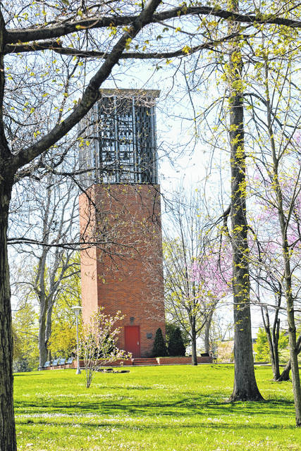 The Simon Goodman Memorial Carillon is a central focus for those traversing Collett Mall and takes on a different character depending upon the season. It was dedicated 60 years ago in September 1960.