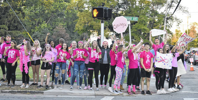Many local high school students as well as adult volunteers helped make last year's event a success.