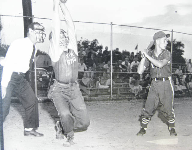 The first softball game at the J.W. Denver Williams Jr. Memorial Park on May 1949. Can you tell us more? Share it at info@wnewsj.com. The photo, which was taken by Robert McNemar, is courtesy of the Clinton County Historical Society. Like this image? Reproduction copies of this photo are available by calling the History Center. For more info, visit www.clintoncountyhistory.org; follow them on Facebook @ClintonCountyHistory; or call 937-382-4684.