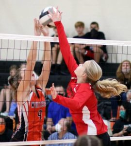 East Clinton JV volleyball defeats Whiteoak