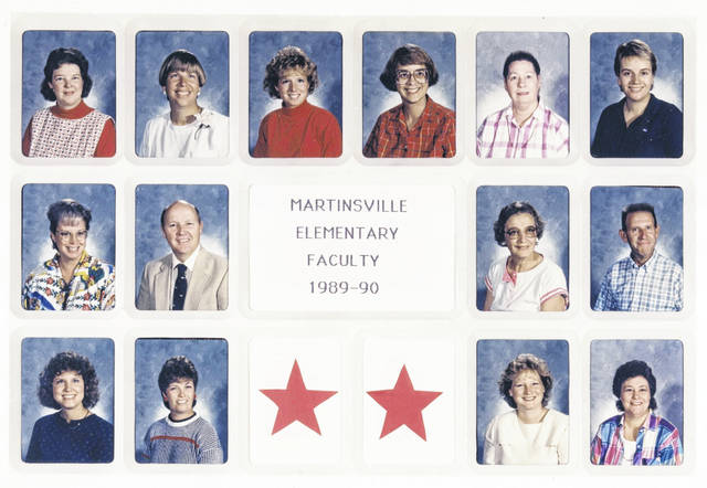 The 1989-1990 Martinsville Elementary faculty. Can you tell us more? Share it at info@wnewsj.com. The photo is courtesy of the Clinton County Historical Society. Like this image? Reproduction copies of this photo are available by calling the History Center. For more info, visit www.clintoncountyhistory.org; follow them on Facebook @ClintonCountyHistory; or call 937-382-4684.