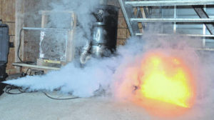 In Clarksville, where there's 'smoke', there's fire training