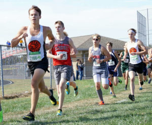 Andrews leads WHS to 4th at SBAAC CC race