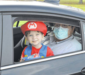 Fill 'er up … with sweets at Wilmington's drive-thru trunk-or-treat!