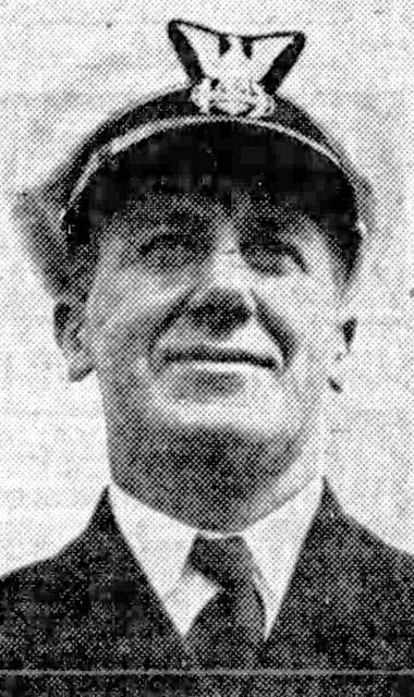 Fred Pierson during his days in the United States Coast Guard