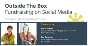 Zoom into free seminars from local experts on fundraising via social media