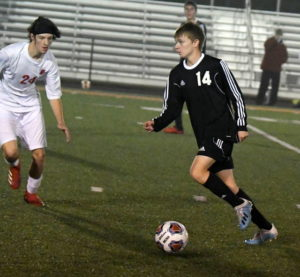 Tigers end Hurricane boys soccer season 3-2