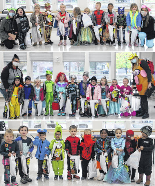Clinton County Community Action staff held a Social Distancing Trick or Treat for the Head Start children providing a safe and dry experience for them. Staff even participated by wearing costumes.