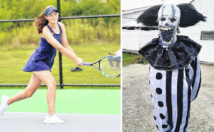 From scary serve to frightful forehand