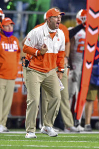 Clemson's Swinney: COVID-19 FSU 'excuse to cancel game'