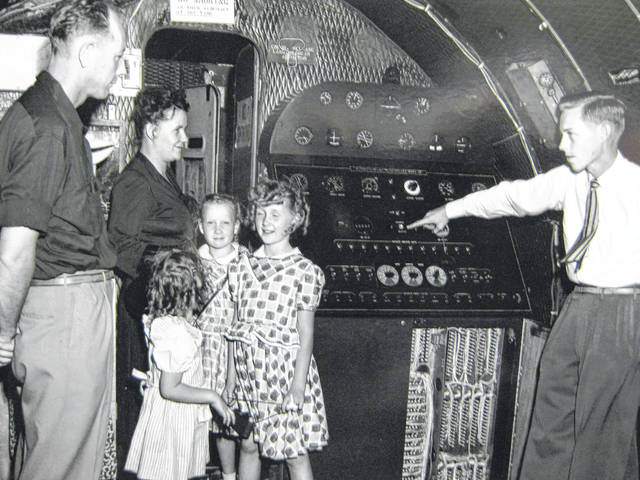 Locals of all ages were welcomed to the open house at the Clinton County Air Force Base on Sept. 19, 1948. Can you tell us more? Share it at info@wnewsj.com. The photo is courtesy of the Clinton County Historical Society. Like this image? Reproduction copies of this photo are available by calling the History Center. For more info, visit www.clintoncountyhistory.org; follow them on Facebook @ClintonCountyHistory; or call 937-382-4684.
