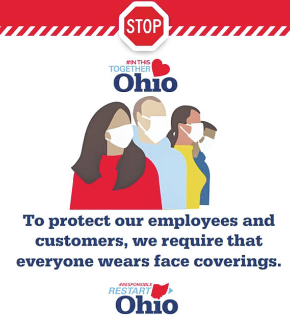 A poster the state makes available to Ohio businesses.