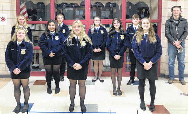 East Clinton's Parliamentary Procedure teams both excelled in competition.