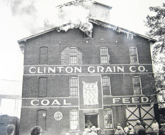 Shown is the Clinton County Grain Elevator fire on July 31, 1947. Can you tell us more? Share it at info@wnewsj.com. The photo, which was taken by Robert McNemar, is courtesy of the Clinton County Historical Society. Like this image? Reproduction copies of this photo are available by calling the History Center. For more info, visit www.clintoncountyhistory.org; follow them on Facebook @ClintonCountyHistory; or call 937-382-4684.