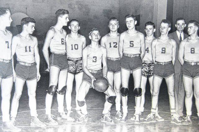 The Martinsville High School basketball team on Feb. 18, 1946. Can you tell us more? Share it at info@wnewsj.com. The photo, which was taken by Robert McNemar, is courtesy of the Clinton County Historical Society. Like this image? Reproduction copies of this photo are available by calling the History Center. For more info, visit www.clintoncountyhistory.org; follow them on Facebook @ClintonCountyHistory; or call 937-382-4684.