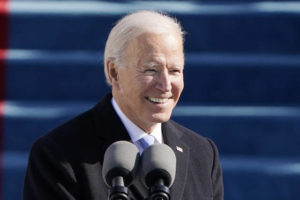 The Latest from AP: Biden takes the oath of office; calm prevails at state capitols