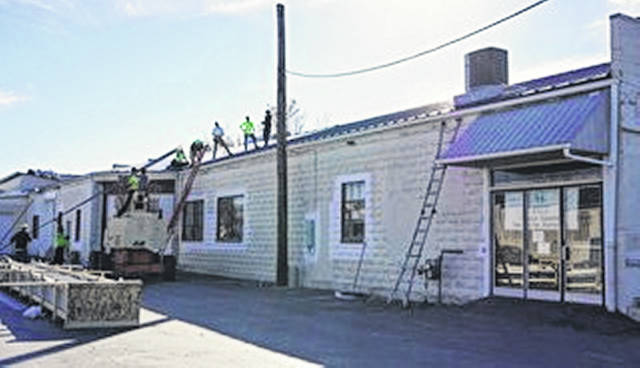 Clinton County Habitat for Humanity's ReStore in Wilmington has a new roof.