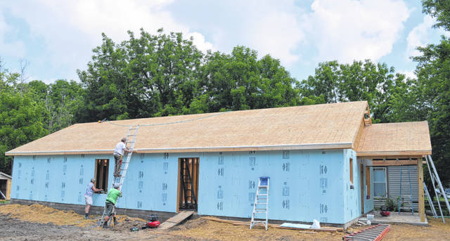 In 2020, Clinton County Habitat for Humanity built a house on South Mulberry Street in Wilmington.