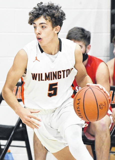 Brandon Glass had three points, two rebounds and two assists for Wilmington Thursday night.