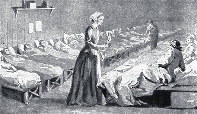 Florence Nightingale was a pioneer in the field of nursing.