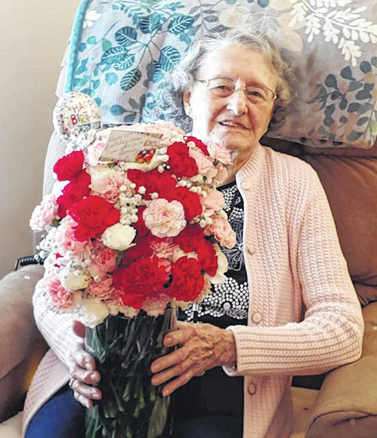 For Ohio Living Cape May resident Helen Semler, Valentine's Day means more than just a special day for heart-shaped cards and candy — it's also Helen's birthday. In fact, Valentine's Day 2021 was Helen's 103rd birthday. Happy Birthday Helen!