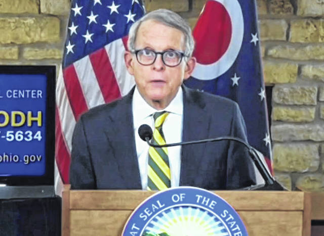 Gov. Mike DeWine updates Ohioans on Thursday afternoon.