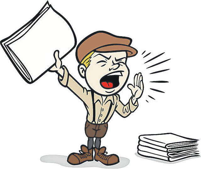 Great illustration of a cartoon paperboy. Perfect for a media or newspaper illustration. EPS and JPEG files included. Be sure to view my other illustrations, thanks!