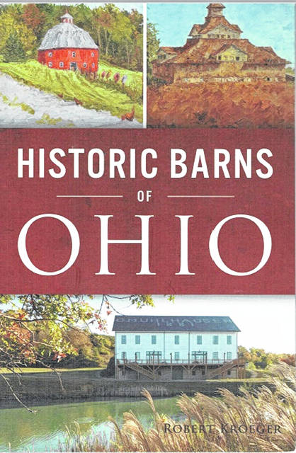 The cover of the new book on Ohio's historic barns.