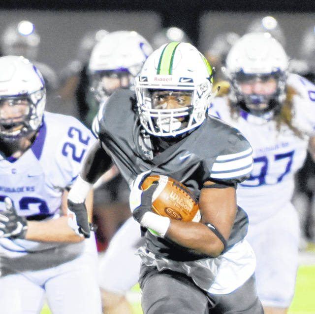 Malik Sims led the Wilmington College rushing attack in last week's season-opening 26-21 win over Capital University.