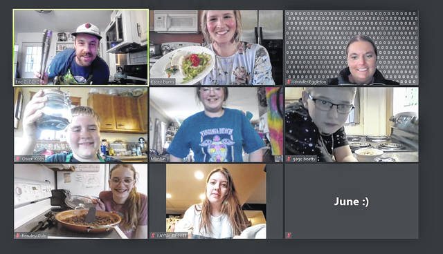 The Clinton County Youth Council (CCYC) Virtual Cooking Club is hosted by OSU Extension Agency SNAP-Ed Coordinator Kacey Burns. Eligible participants receive new cookware and grocery gift cards courtesy of CCYC to use for the virtual cooking sessions. CCYC is a free after-school youth center in Wilmington, providing academic support, positive programming, and mentoring for youth in grades 6-12.