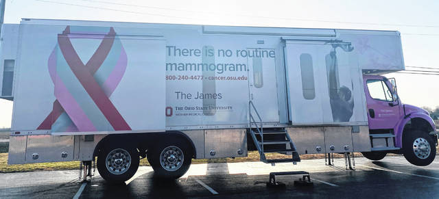 Clinton County Community Action Program recently hosted the Arthur G. James Cancer Hospital and Richard J. Solove Research Institute Mobile Mammography Screening unit which provided mammograms to 13 Clinton County residents. This is the second time during the past year that this opportunity has been provided with an additional date planned for June. Community Action will notify the community via the Wilmington News Journal, Facebook and their website at clintconcap.org with the date. These services are provided to individuals with or without insurance benefits.
