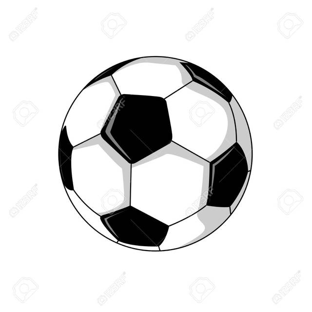 Foot Ball Soccer Illustration Vector Graphic Design