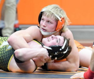 County trio wins first two at district