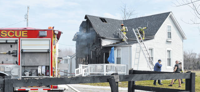 Firefighters got a house fire knocked out fairly quick Wednesday afternoon, reports Clinton Warren Joint Fire District & EMS Chief Bob Wysong.