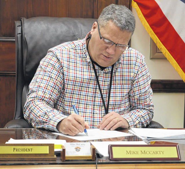 Expanding broadband coverage in Clinton County is a top local priority, says Clinton County Commissioners President Mike McCarty.
