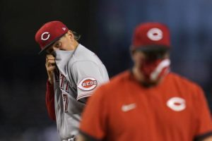 Westward No! Reds fall back to earth with 2 losses