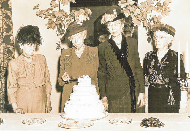 The Six and Twenty Club celebrating its 50th anniversary at the General Denver. From left are Adda Hains Hildebrant, Marshie Austin, Tacy Walker Robinson and Wilmina Kembrough. Can you tell us more? Share it at info@wnewsj.com. The photo is courtesy of the Clinton County Historical Society. Like this image? Reproduction copies of this photo are available by calling the History Center. For more info, visit www.clintoncountyhistory.org; follow them on Facebook @ClintonCountyHistory; or call 937-382-4684.