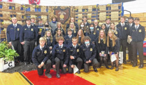 East Clinton FFA wraps up banner year with annual banquet
