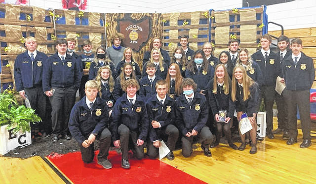The East Clinton FFA members wrapped up a busy year with the annual banquet.