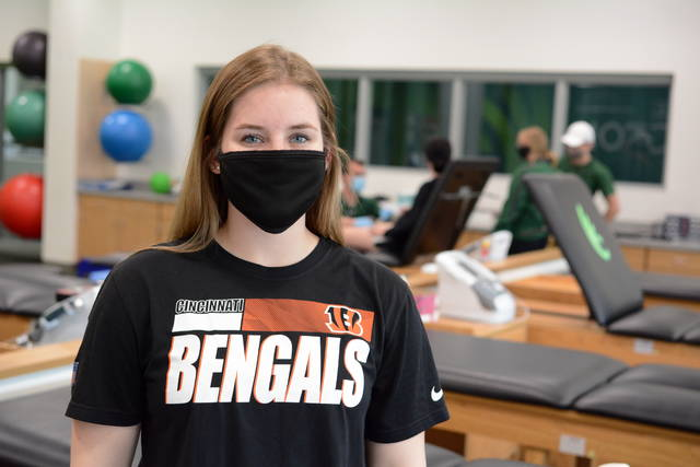 Junior Maryn Herring will start in May as an intern with the Cincinnati Bengals.