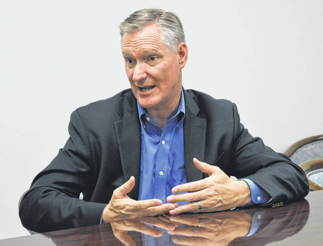 U.S. Rep. Steve Stivers during a past question-and-answer session with News Journal staff.