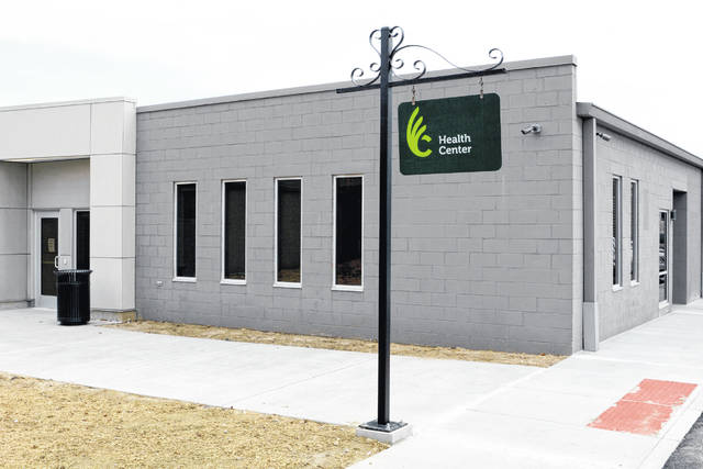 The Health & Wellness Center, which is located in the Hermann Court Annex, features an entrance positioned directly across from Charlie Gilhart Field at the Center for Sport Sciences.