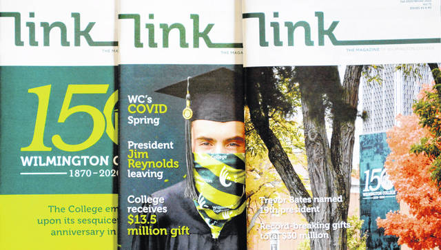 The Gold Medal Award recognizes a series of three external publications. These feature the last three issues of The LINK, which highlight the College's 150th anniversary.