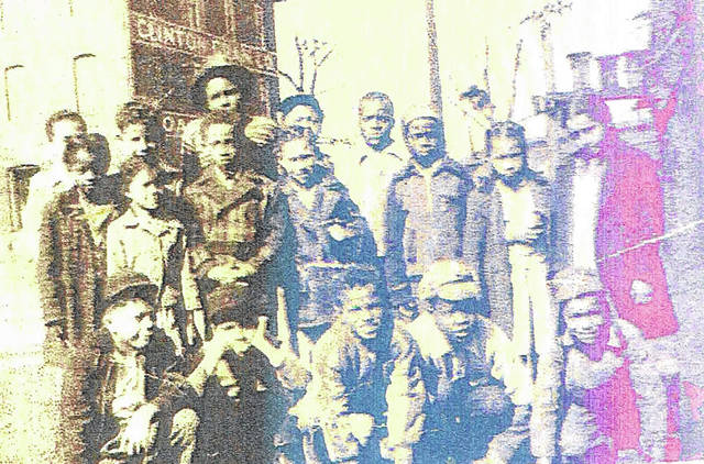 These two undated photos are were taken in front of the segregated Midland School at the corner of Wilmington's Douglas and Grant Streets. It was abandoned as a segregated school in 1952 and later torn down. Shown are: back row, Chacy Scott, Macy Cordell, Ben Jamison, Huey Duncan and Jimmy Medley; middle row, Evelyn Peyton Burns, Cecilia Cassell, Donnie Sims, Wesley Goings, Danny Davis, Judith Scott and Joyce Powell; and, front row, David Minor, Bobby Smith, Gordon Jones, Virgil Medley and Freddie Garrett. Can you tell us more? Share it at info@wnewsj.com.