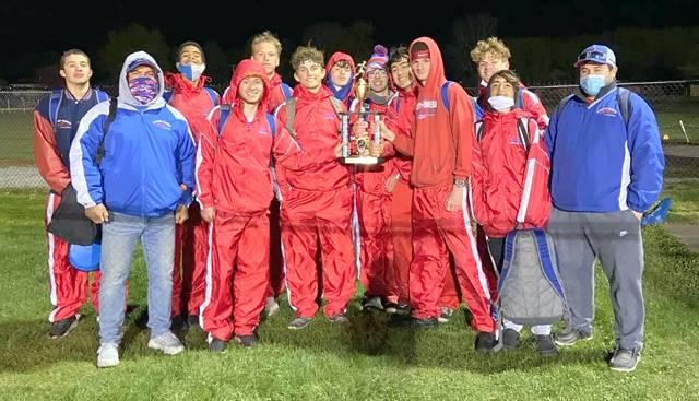 The Clinton-Massie boys track and field team won the Greenon Invitational Tuesday night.