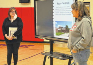 Clinton-Massie's Falcon Flex highlighted at board meeting